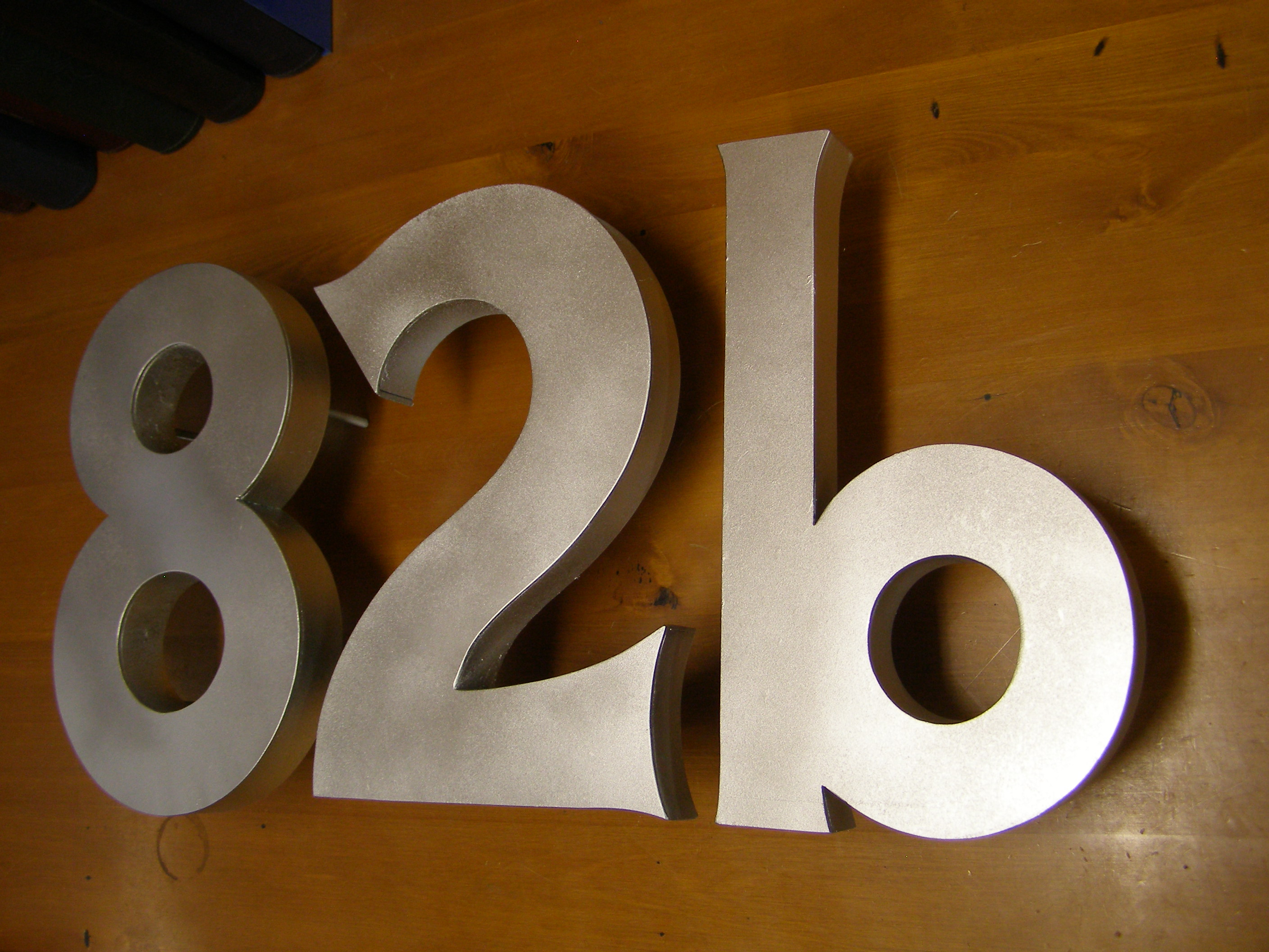 Ironic Art Products 34 House Numbers